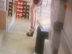 No Panties - Shoe Shop 1