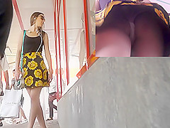 Great upskirt collection will surely make your day
