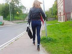 Nice ass and legs