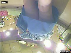 ATX Upskirt at the Coffee Shop