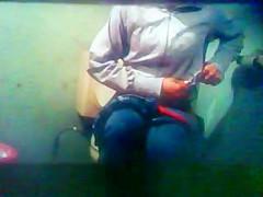 lupe y gaby en el toilet