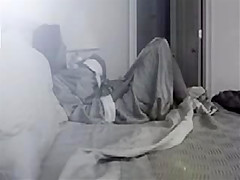 Young mom masturbating in her bedroom
