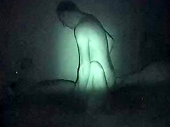 Our TV Is Watching Us again - night shot - night vision
