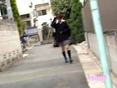 Shuri sharking with small bombastic schoolgirl and some random guy