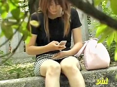 Tits sharking adventure of some marvelous little Japanese princess