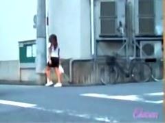 Petite stunning brunette gets butt naked during fast sharking attack