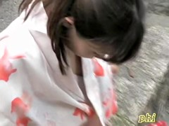 Incredible downblouse video of perky playful bimbo being completely revealed