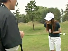 Intense public adventure with sexy Asian sweetie being recorded with camera