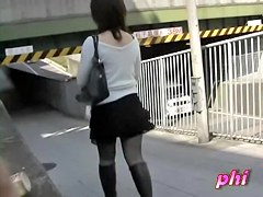 Soft elegant Japanese whore is having sharking encounter with random lad