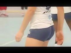 Tight Ass College Teen Volleyball Shorts