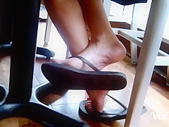 The Coffee Shop Feet Lady 1 part 1
