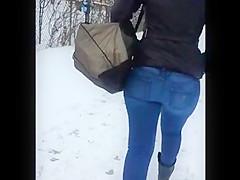 Big Butt Candid