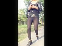 Seetrough leggings