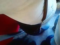 ENCOXADA BIG ASS IN THE BUS 2