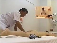 asian girl fingered during massage p1