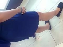 Nice Mex Ass in Dress
