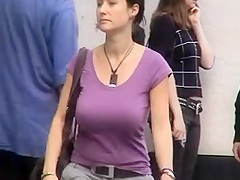 BEST OF BREAST - Busty Candid 05