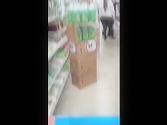 mexican chick with round ass(hidden cam)