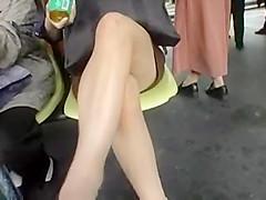 Asiatica Manoseada en el tren #01