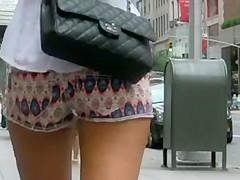 Sexy Walk in Shorts