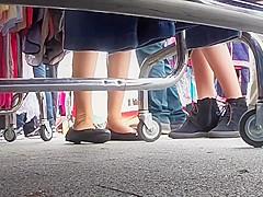 Public Feet Cam 3-15