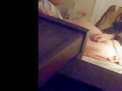 hidden cam wife masturbating while watching porn IP cam