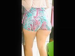 Massive ass woman voyeured