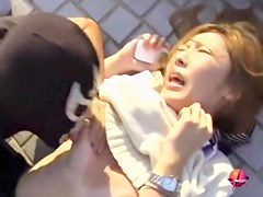 Cool sharking action with lovable Japanese doll receiving money shot