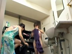 Hot Golden Rain video with Setsuko's virgin parking place