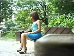 Hot girls show their candid brabazons in asian voyeur video