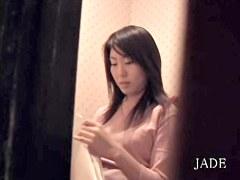 Delicious Japanese sex video of hot girl masturbating hard