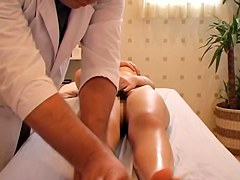 Hot Asian fingered and banged n massage spy camera