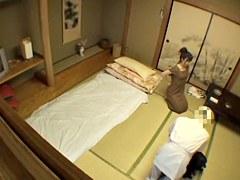 Irresistible Japanese bimbo fucked in voyeur massage video