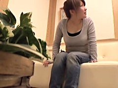 Busty Japanese gets banged in voyeur massage video