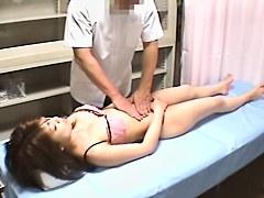 Japanese cutie drilled in hidden cam massage video