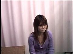 Skinny Japanese teen enjoys a kinky Gyno exam drilling