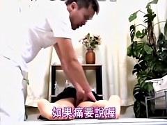 Relaxing oily massage turns into hardcore Japanese fucking