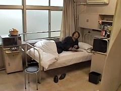 Cute Japanese nurse gets banged hard in medical fetish video