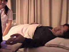 Cute Jap nurse screwed in hardcore Japanese sex video