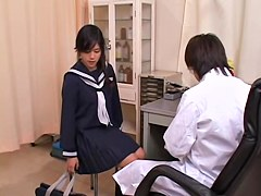 Hot asian movie with gyno examination and pussy fingering