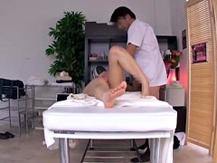 Hidden cam video with japanese tits massage and hard humping