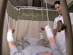 Medical voyeur video with asian nurse fucked by my manhood