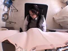 Innocent Jap teen fingered during medical examination