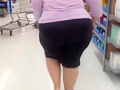 FAT WHITE ASS