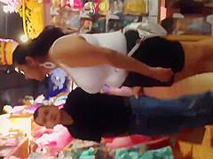 Big boob Mexican mom