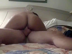 Horny Cheating Latina Wife fucking her Lover at the Motel