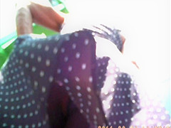 51.Upskirt2011 -  Dotted dress and tight panties