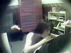 Hidden cam - blow job
