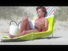 nice boobs on the beach