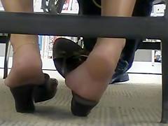 Candid feet #13